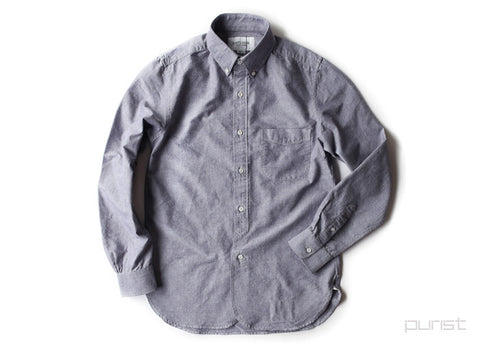 Regular BD Shirt - Light Violet (Red Selvedge)