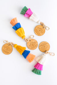 """See The Colour"" Tassel Keychain"