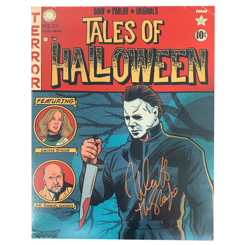 Nick Castle - Halloween Comic Cover