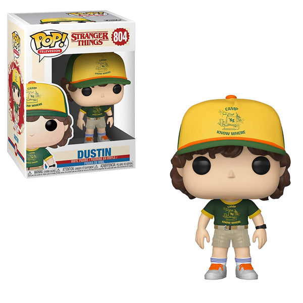 Stranger Things - Dustin Signed Funko Pop!