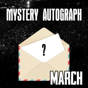 Wrestling Mystery Autographs - March