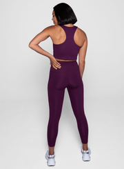 Plum Compressive Háar Leggings