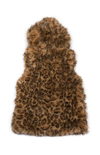 Tiger Vest Faux Fur