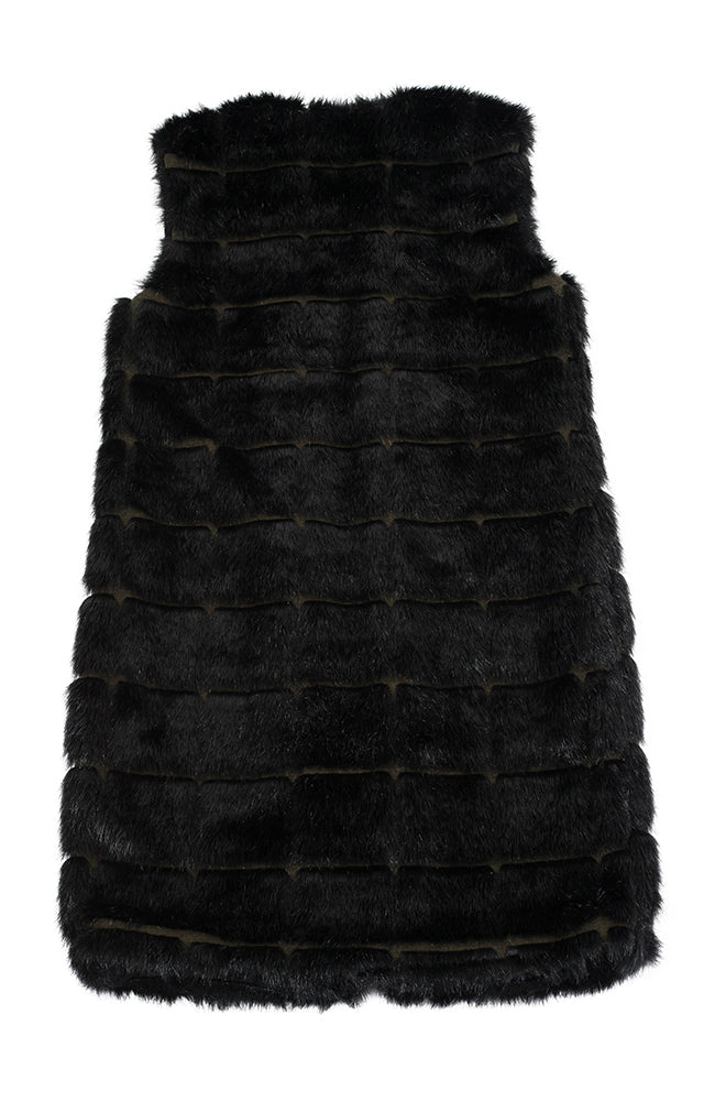 New York Vest Faux Fur