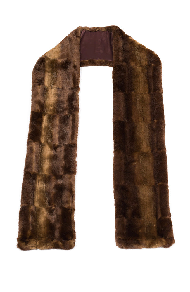 Sable Scarf Faux Fur