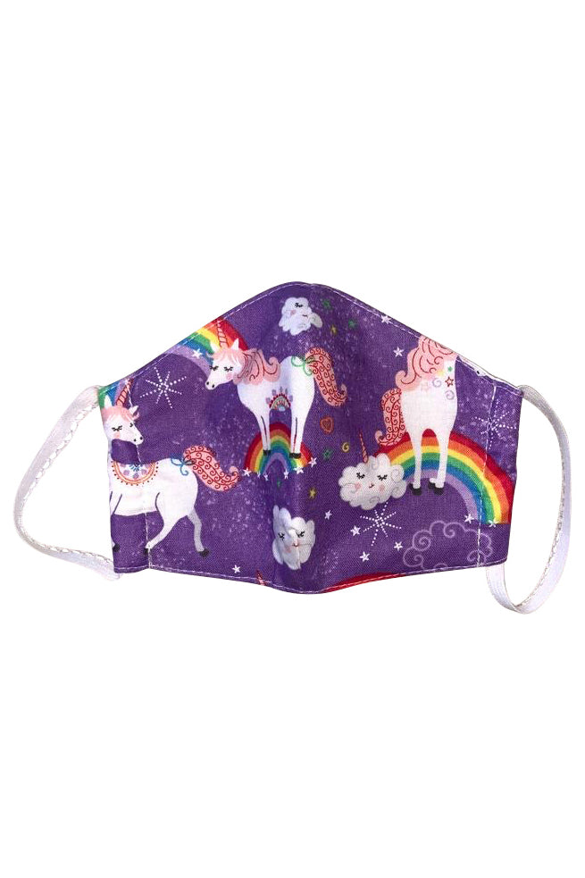 Face Mask Kids Unicorn