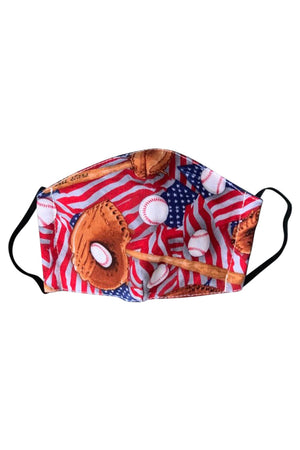 Face Mask Kids USA Baseball