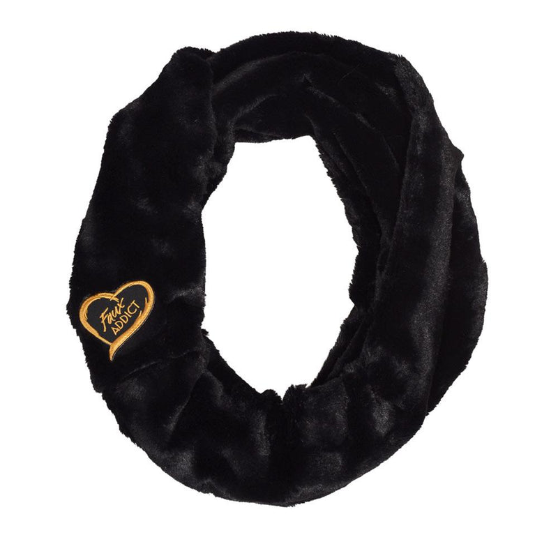 Chinchilla Bella Faux Fur Infinity Scarf