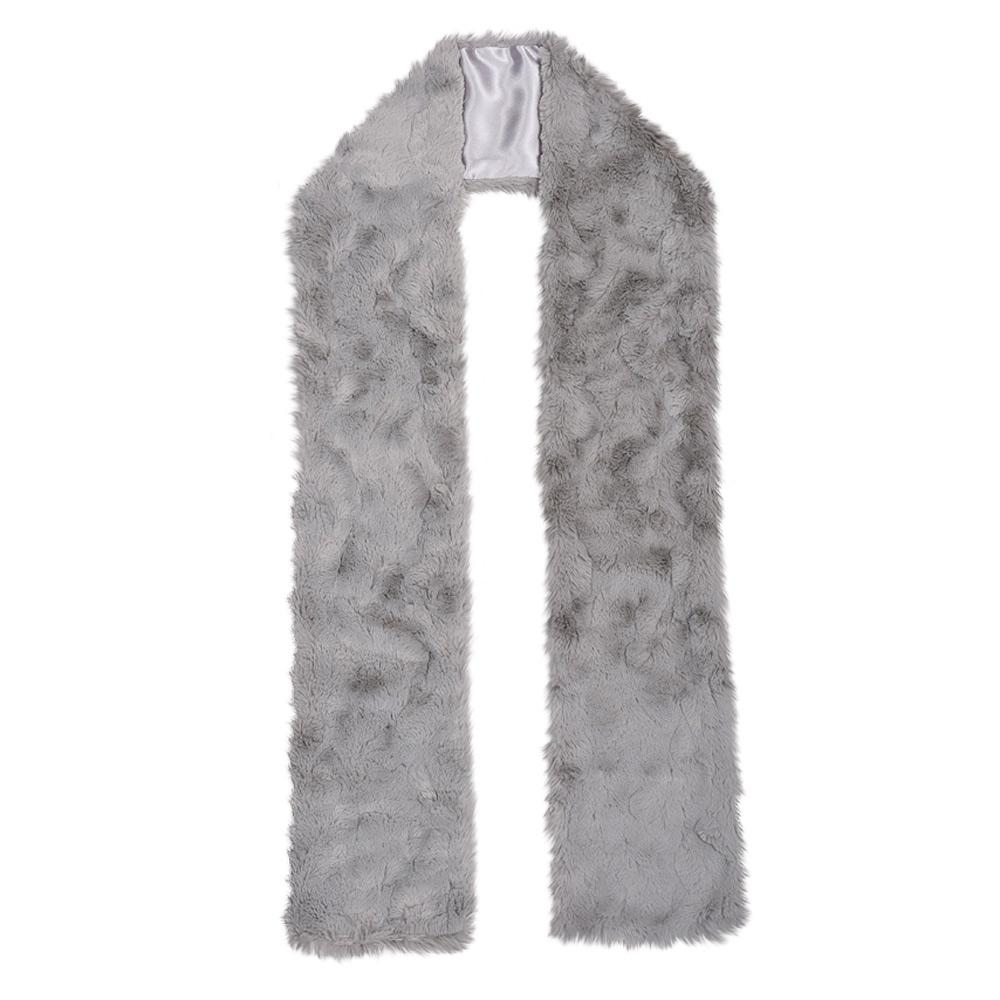 Chinchilla Bella Faux Fur Scarf