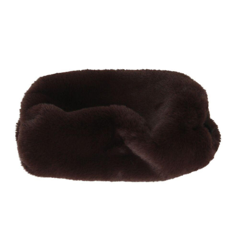 Chinchilla Fux Fur Muff Boulder-Faux Addict