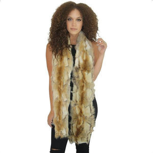 Women's faux fur Scarf
