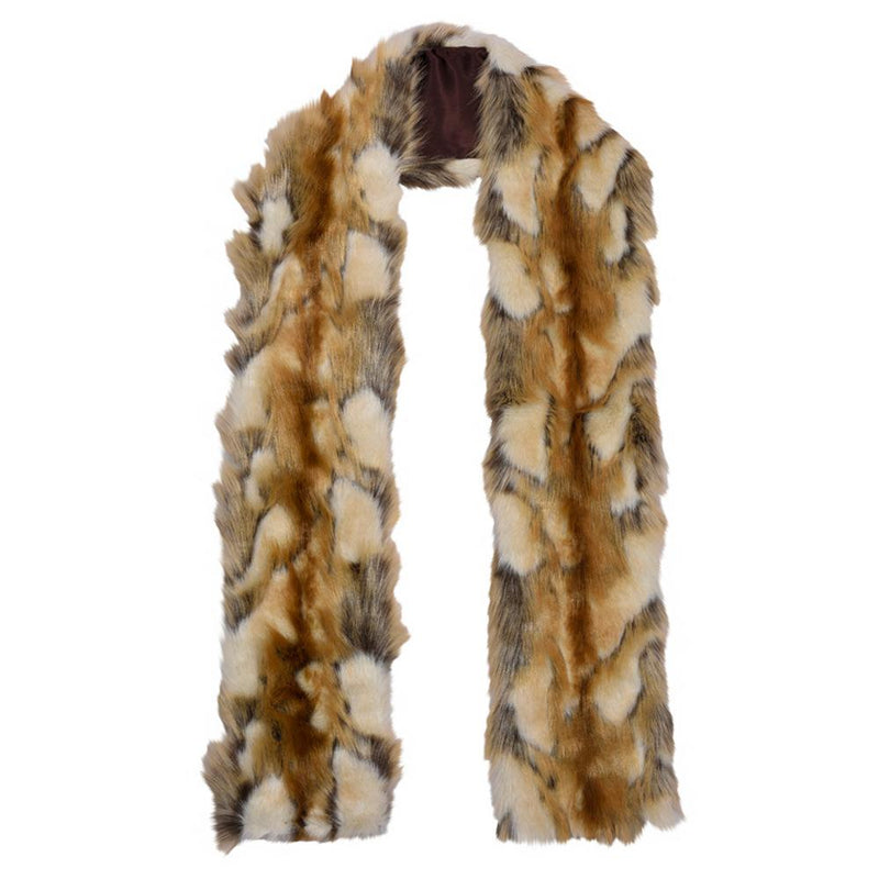Coyote Scarf Faux Fur