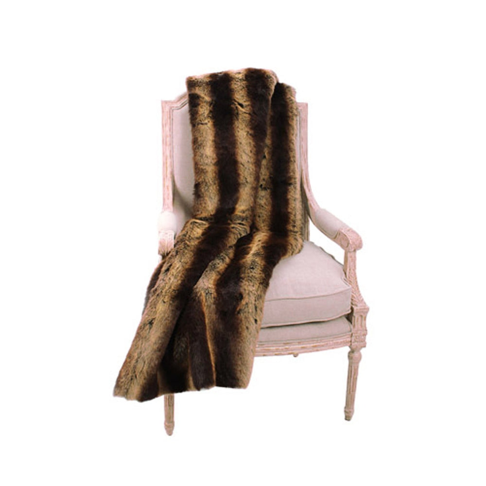 Faux Fur Throw - Luxe Chinchilla