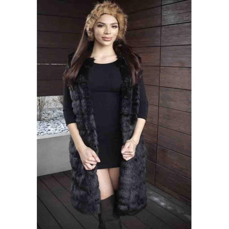 luxury faux fur Lion