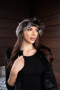 Headbands Faux Fur Coyote