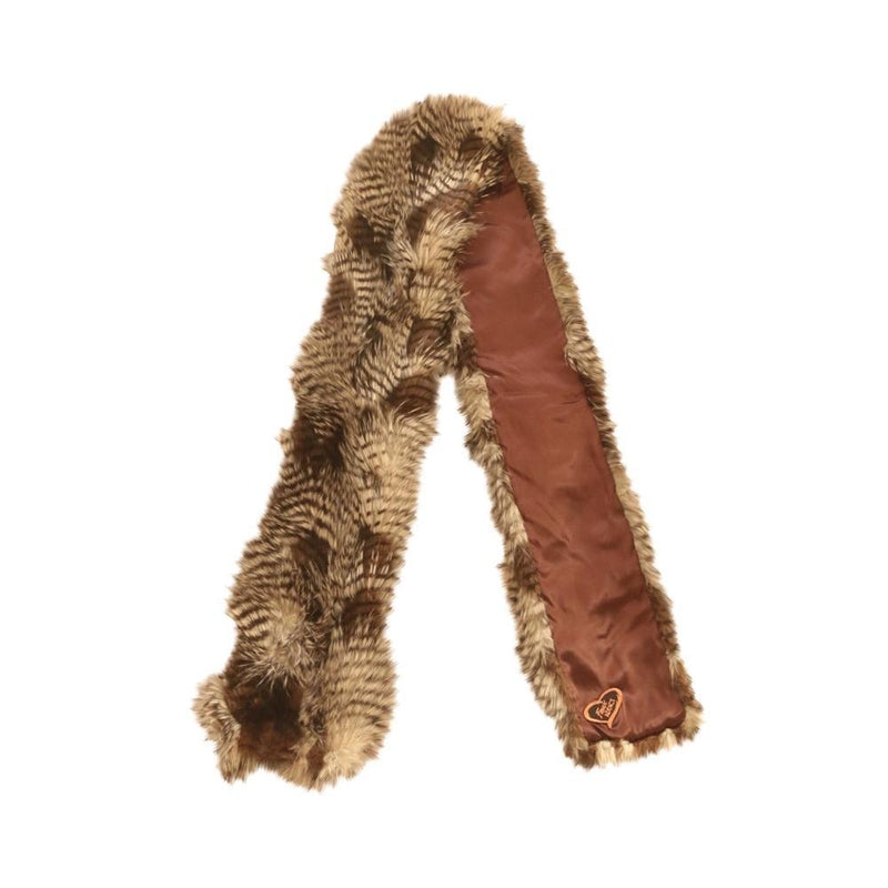Lion Scarf Faux Fur