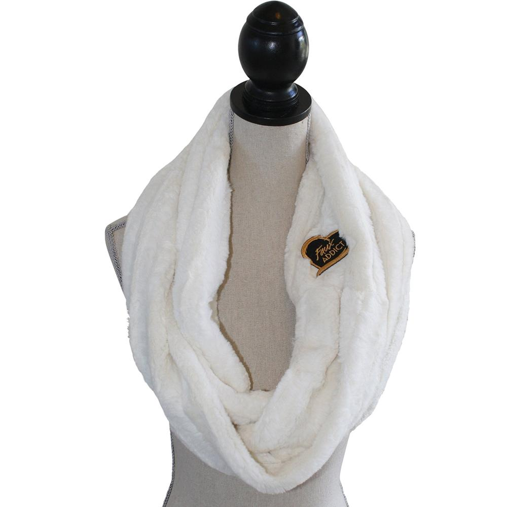 Lion Scarf Faux Fur Honey Bunny-Faux Addict