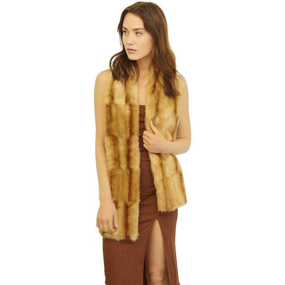Mink Scarf Faux Fur Carmello-Faux Addict