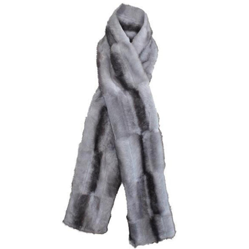 luxury faux fur Scarf
