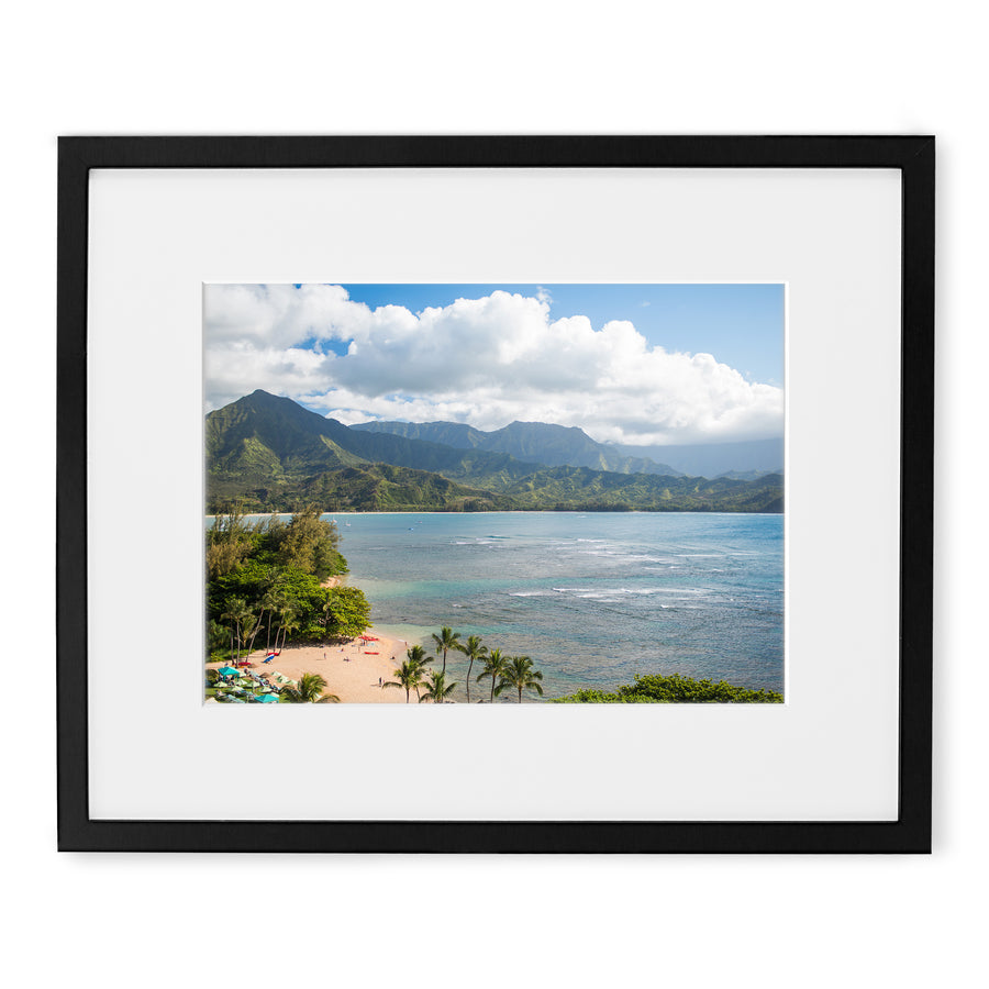 Princeville Resort view prints for sale of Kauai Hawaii by local artisans.