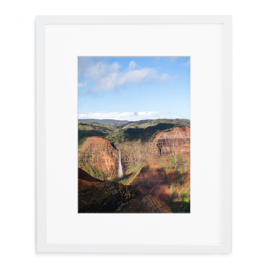 Pictures of waterfall in Waimea Canyon Kauai for my home.