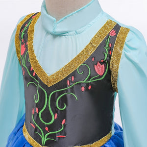 Baby Girls Anna Elsa Girl Princess Dress (More models)