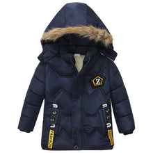 Load image into Gallery viewer, 3-6 year children's coat Winter style letter print