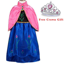 Load image into Gallery viewer, Baby Girls Anna Elsa Girl Princess Dress (More models)