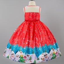 Load image into Gallery viewer, Christmas Party Costume Dress For Girls