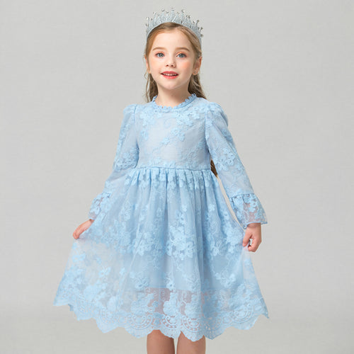 Girls Dress Flower  3-8T