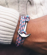 Load image into Gallery viewer, Maritime Anchor Bracelet - Save-TheSeas