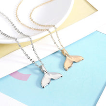 Load image into Gallery viewer, Gold or Silver whale necklace - Save-TheSeas