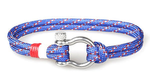 Single Shackle Nautical Bracelet - Save-TheSeas