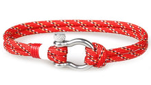 Load image into Gallery viewer, Single Shackle Nautical Bracelet - Save-TheSeas