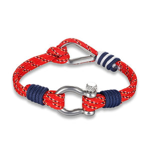 Double Shackle Nautical Bracelet - Save-TheSeas