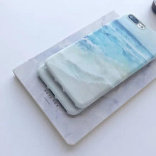 Load image into Gallery viewer, Blue Wave Ocean iPhone Case - Save-TheSeas