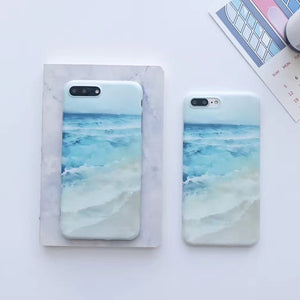 Blue Wave Ocean iPhone Case - Save-TheSeas