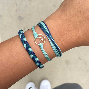 Opal Blue Wave Bracelet - Save-TheSeas