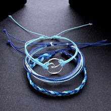 Load image into Gallery viewer, Opal Blue Wave Bracelet - Save-TheSeas