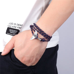 Save The Orcas Tail Bracelet - Save-TheSeas