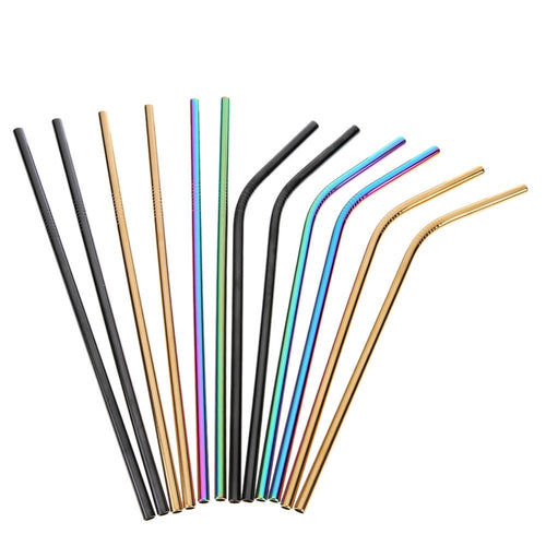 Stainless Steel Reusable Drinking Straws - Save-TheSeas