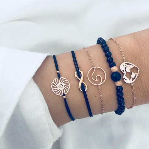 World Love Bracelet Set - Save-TheSeas