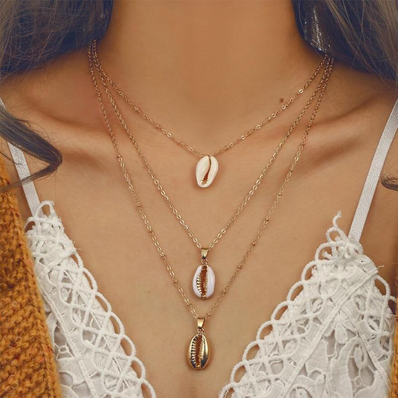 Cowrie Shell Necklace Set - Save-TheSeas