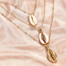 Load image into Gallery viewer, Cowrie Shell Necklace Set - Save-TheSeas