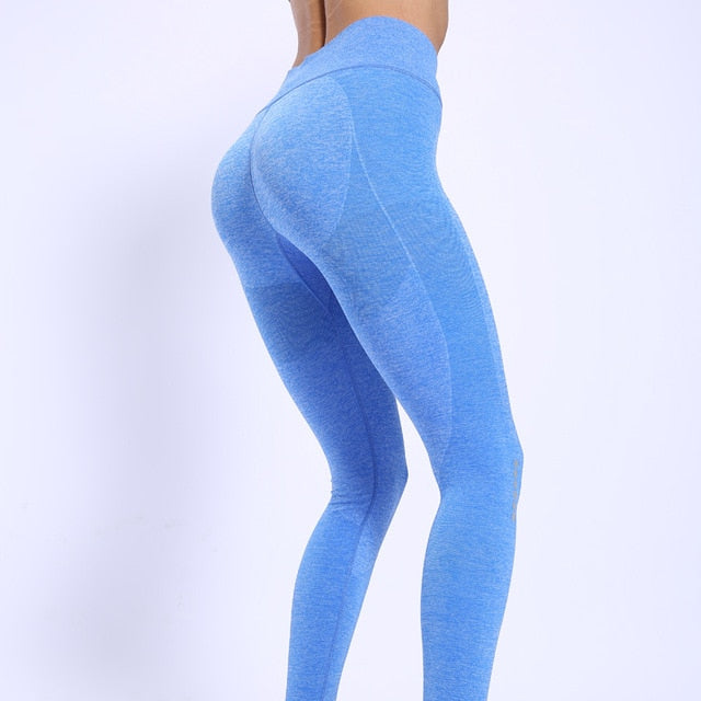 Siesta High Waist Gym Leggings Sport Women Fitness Yoga Pants
