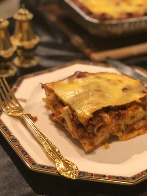 Home cooked lasagne - single serve