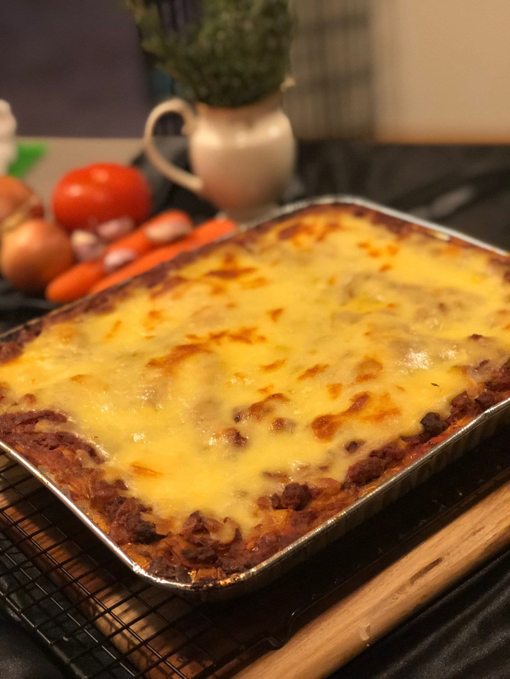 Home cooked lasagne - family size
