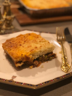 Home cooked Cottage Pie single serve