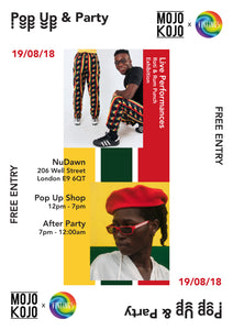 Pop Up & Party - 19/08/18