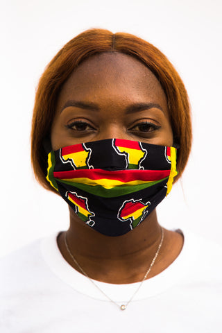 Selassie Face Mask